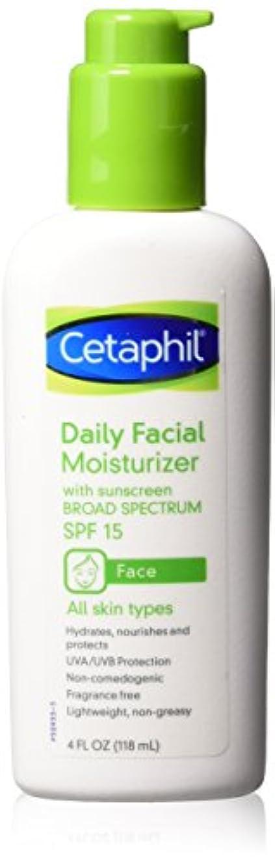 孤独配分地下室Cetaphil Daily Facial Moisturizer 118 ml