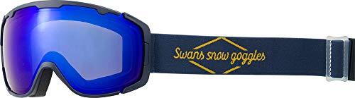 SWANS(スワンズ)成形球面ミラー ダブルレンズ スノーゴーグル スキー スノーボード 大人用 150-MDHS NAV F