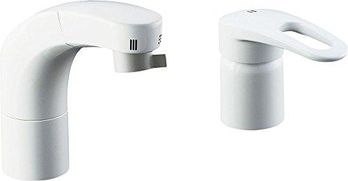 LIXIL(リクシル) INAX 洗面器・手洗器用水栓金具 ホース引出式シングルレバー洗髪シャワー混合水栓 SF-800SU