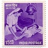 14 Nov '58 Children's Day Children's Day Nurse Child Hospital Medicine 15 nP