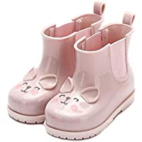 MEIGUIshop Rain Boots - Small Animal Jelly Sandals rain Boots Water Shoes