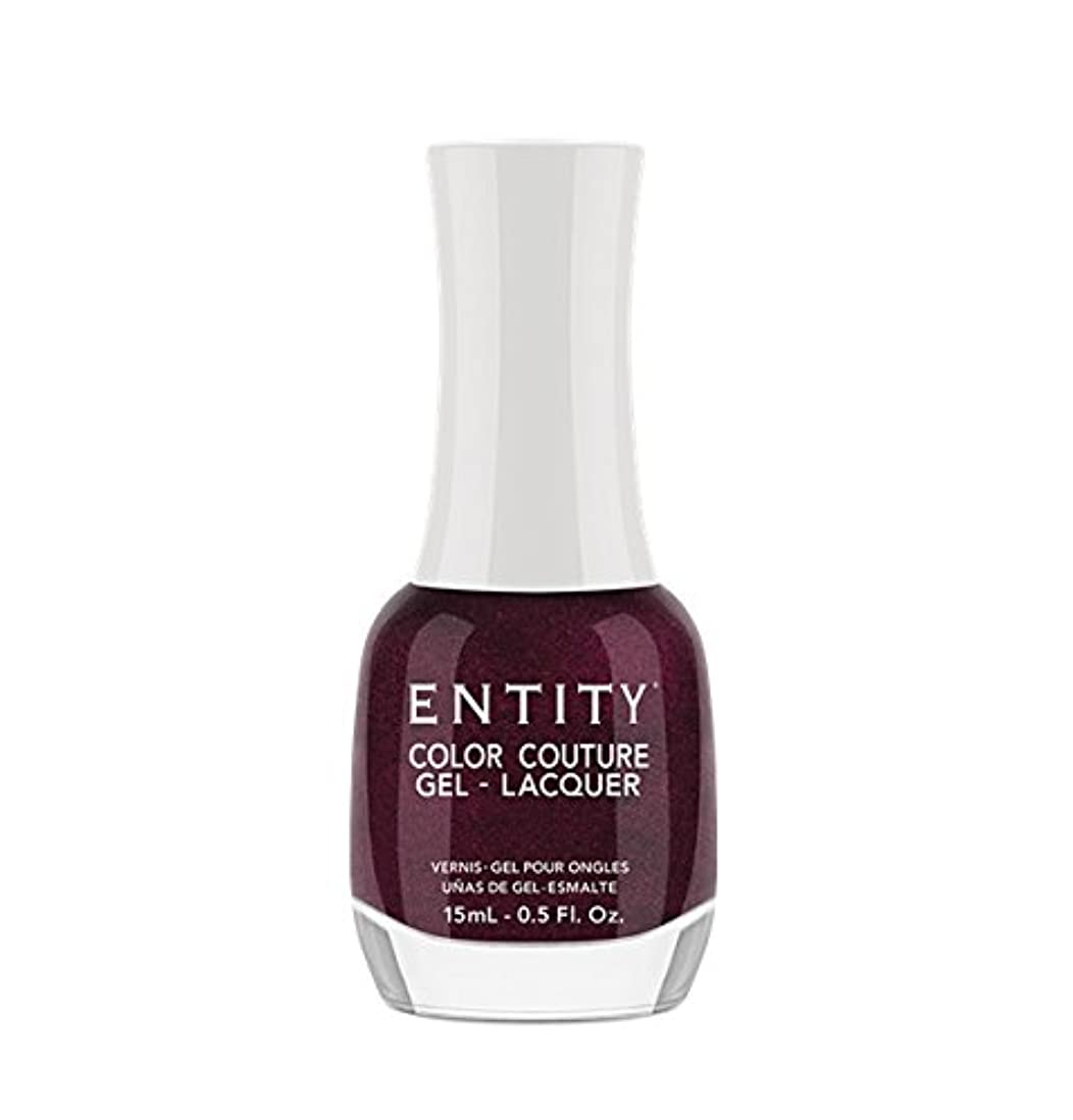 グレートオークサッカー橋脚Entity Color Couture Gel-Lacquer - Adorned In Rubies - 15 ml/0.5 oz