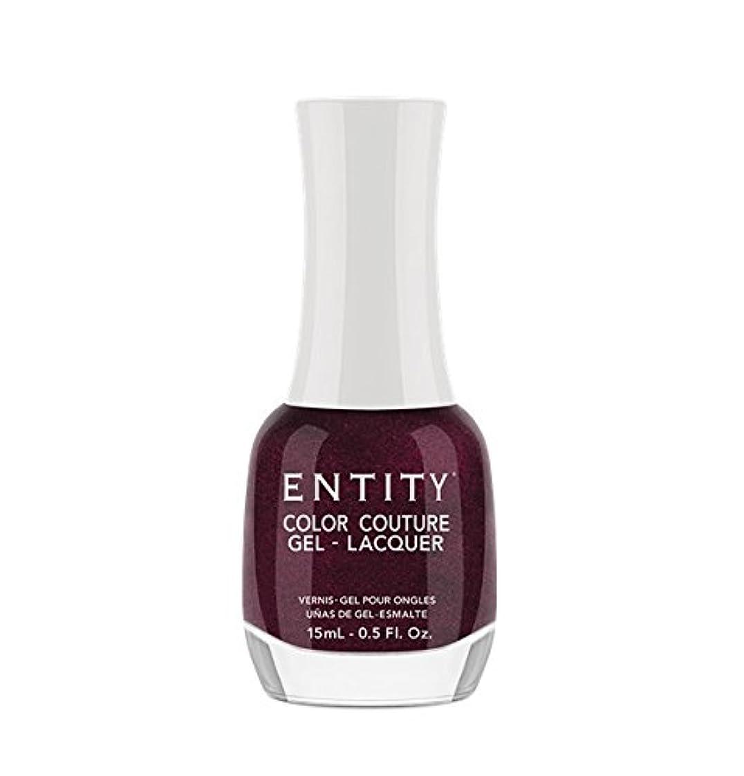 陸軍不測の事態靄Entity Color Couture Gel-Lacquer - Adorned In Rubies - 15 ml/0.5 oz