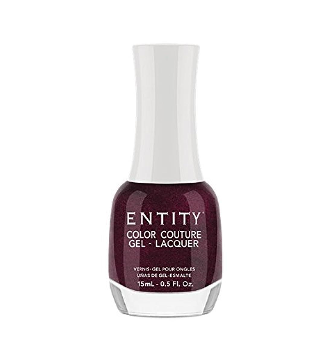 学生マイナス常習者Entity Color Couture Gel-Lacquer - Adorned In Rubies - 15 ml/0.5 oz