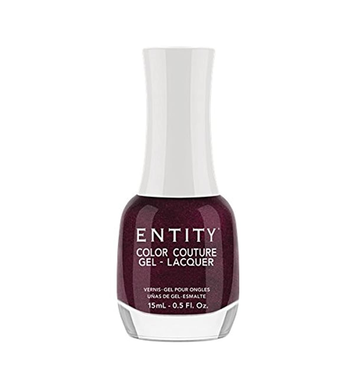 辞書連続的ベットEntity Color Couture Gel-Lacquer - Adorned In Rubies - 15 ml/0.5 oz