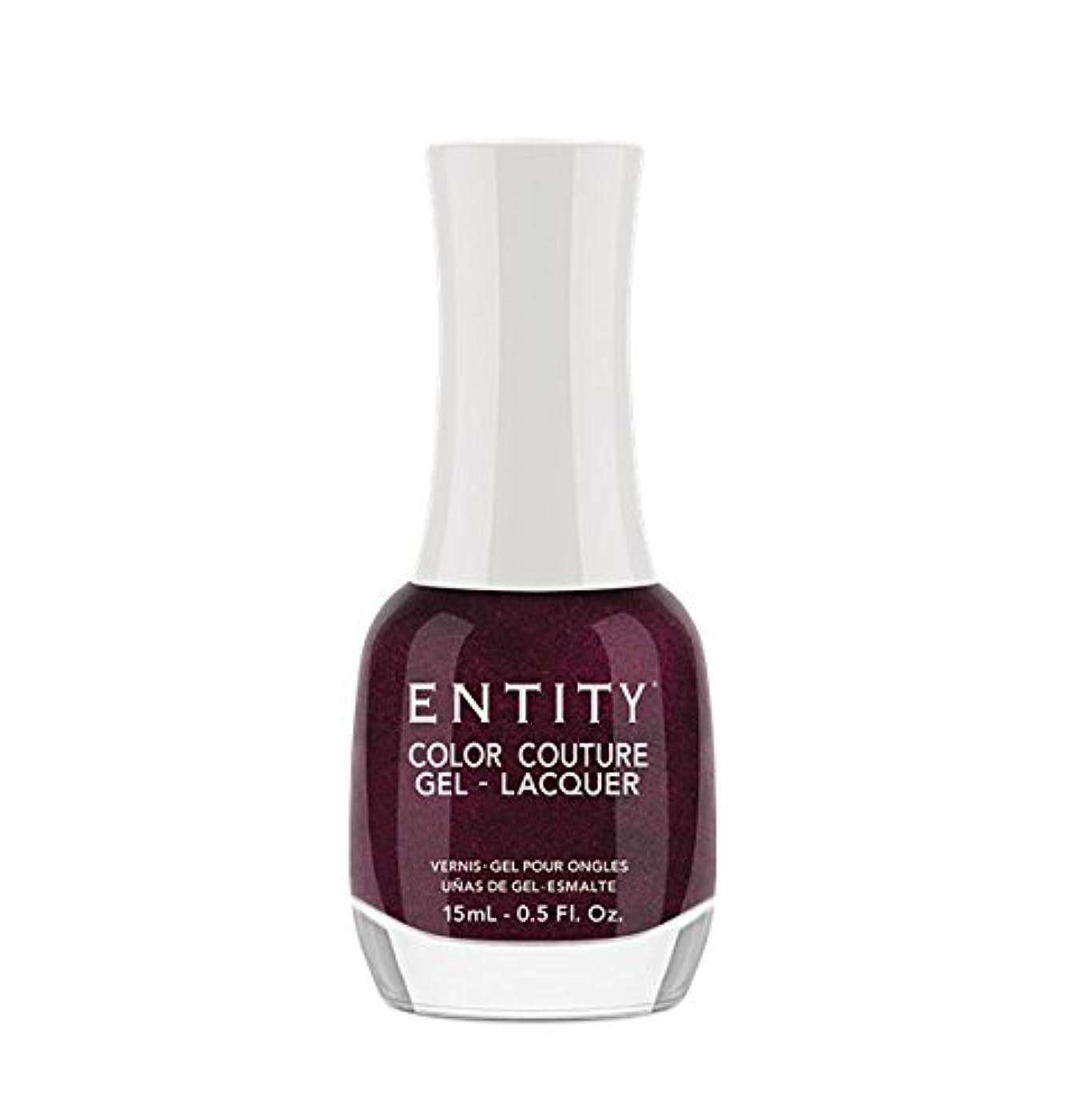 本質的に嫌悪蓄積するEntity Color Couture Gel-Lacquer - Adorned In Rubies - 15 ml/0.5 oz