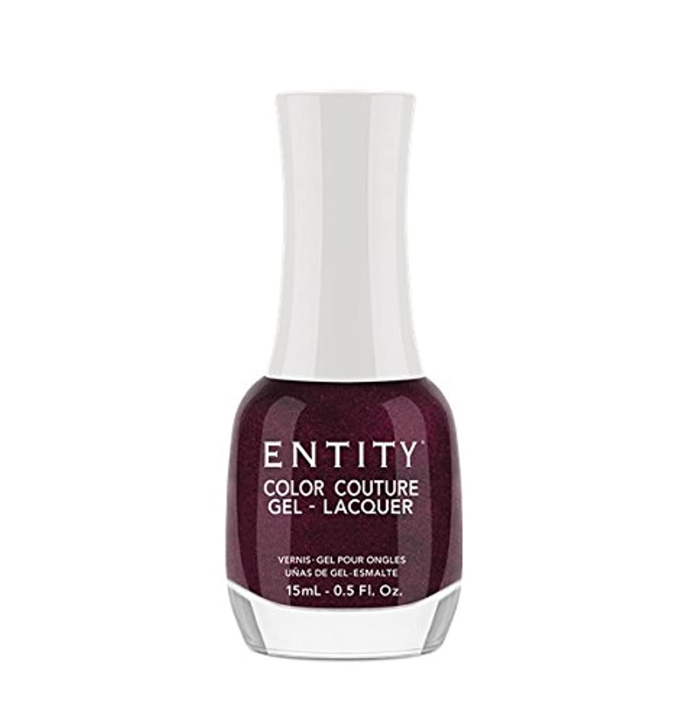 変動する酸っぱい解任Entity Color Couture Gel-Lacquer - Adorned In Rubies - 15 ml/0.5 oz