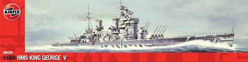 エアフィックス 1/600 キング・ジョージ5世 プラモデル