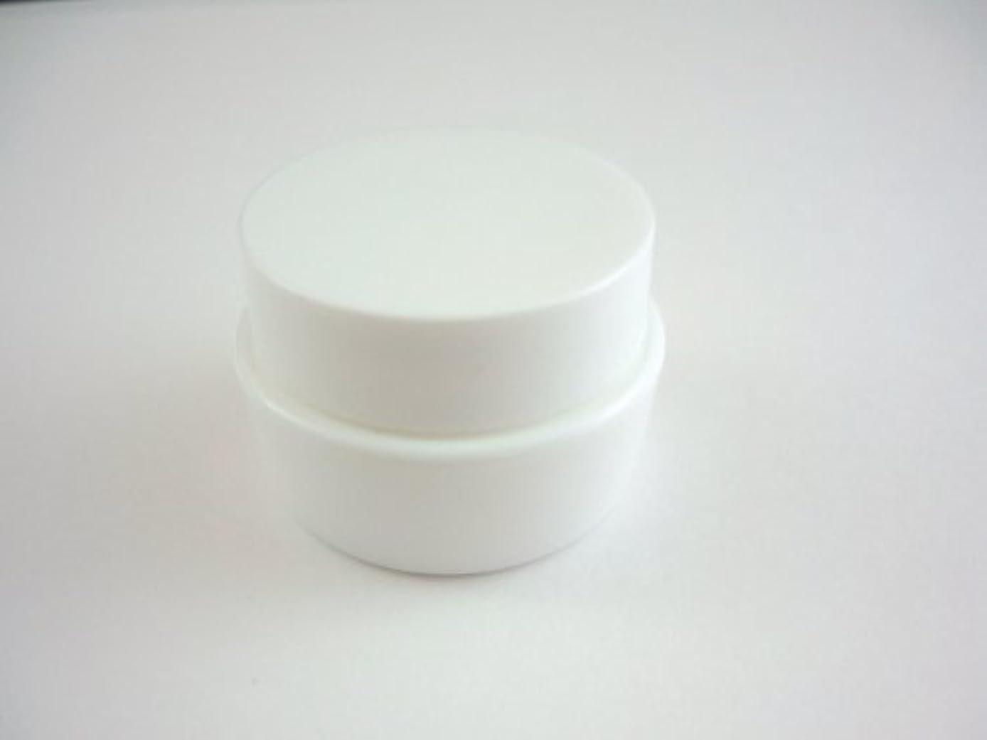 略奪完璧なコンチネンタルジェル空容器 3ml   ホワイト