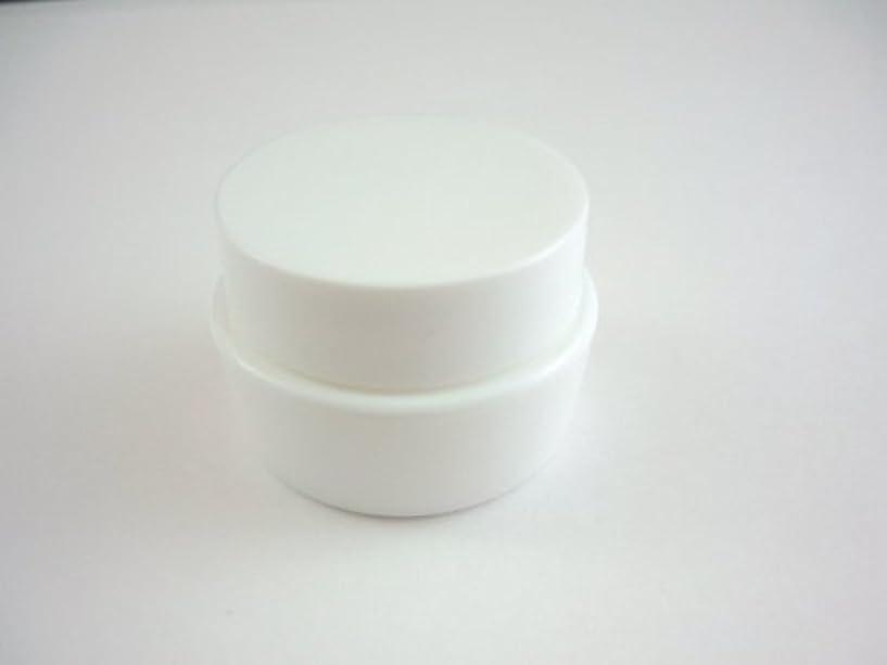 すずめ挽く予想外ジェル空容器 3ml   ホワイト