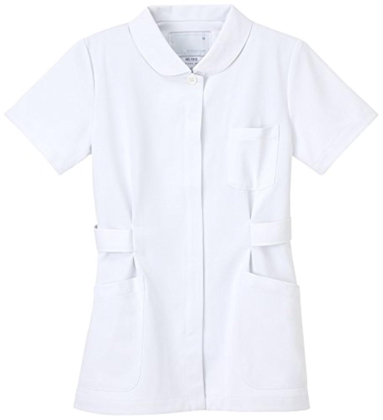 補償従う木曜日ナガイレーベン NAGAILEBEN 女子上衣 HO-1912(S) ホワイト
