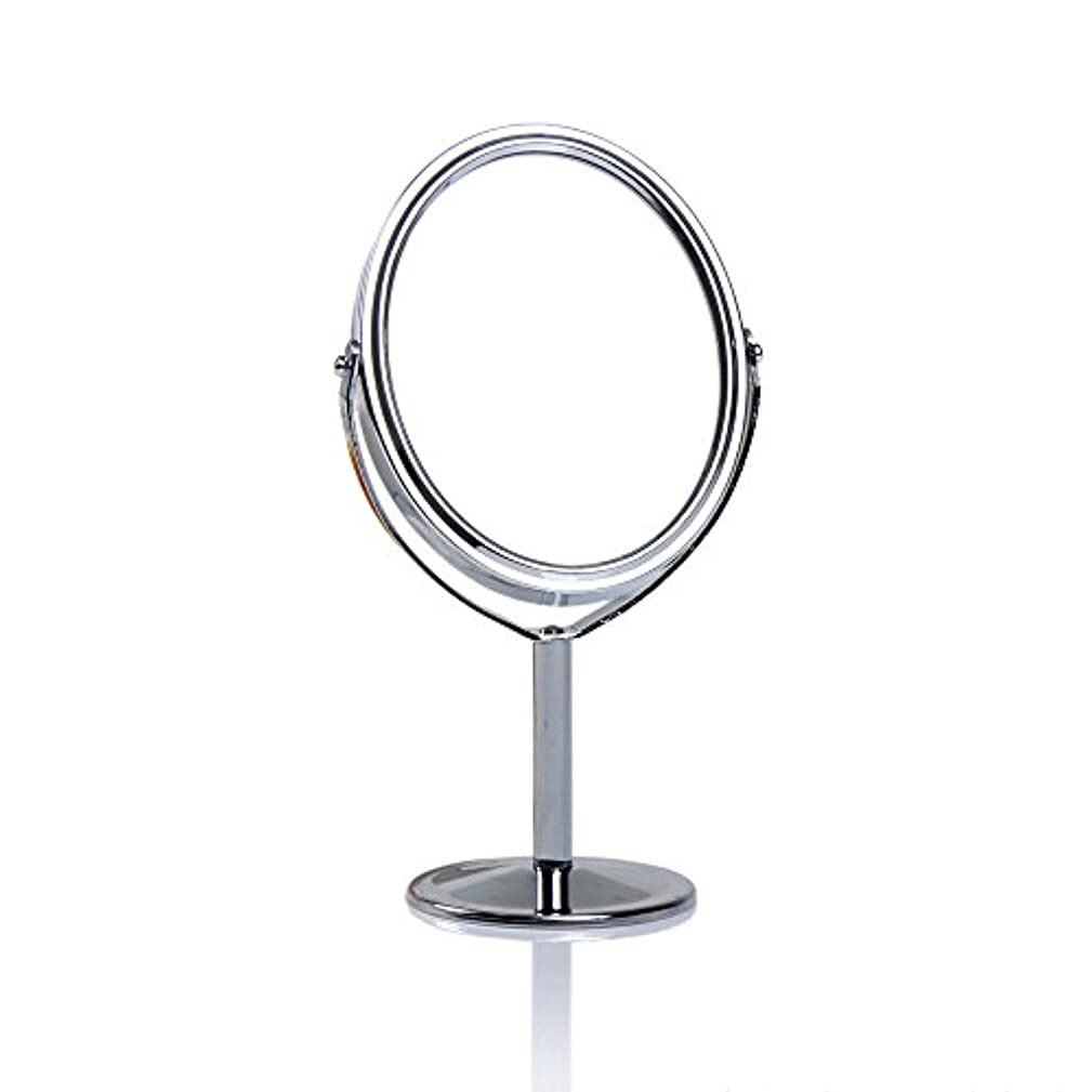 家庭教師仮定メディアDream 化粧鏡 両面 化粧ミラー 美容鏡 卓上鏡 浴室鏡 女優ミラー 防水 (B)