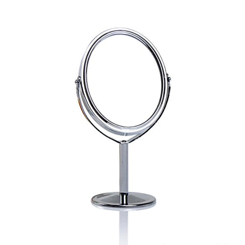 またね持参ラケットDream 化粧鏡 両面 化粧ミラー 美容鏡 卓上鏡 浴室鏡 女優ミラー 防水 (B)