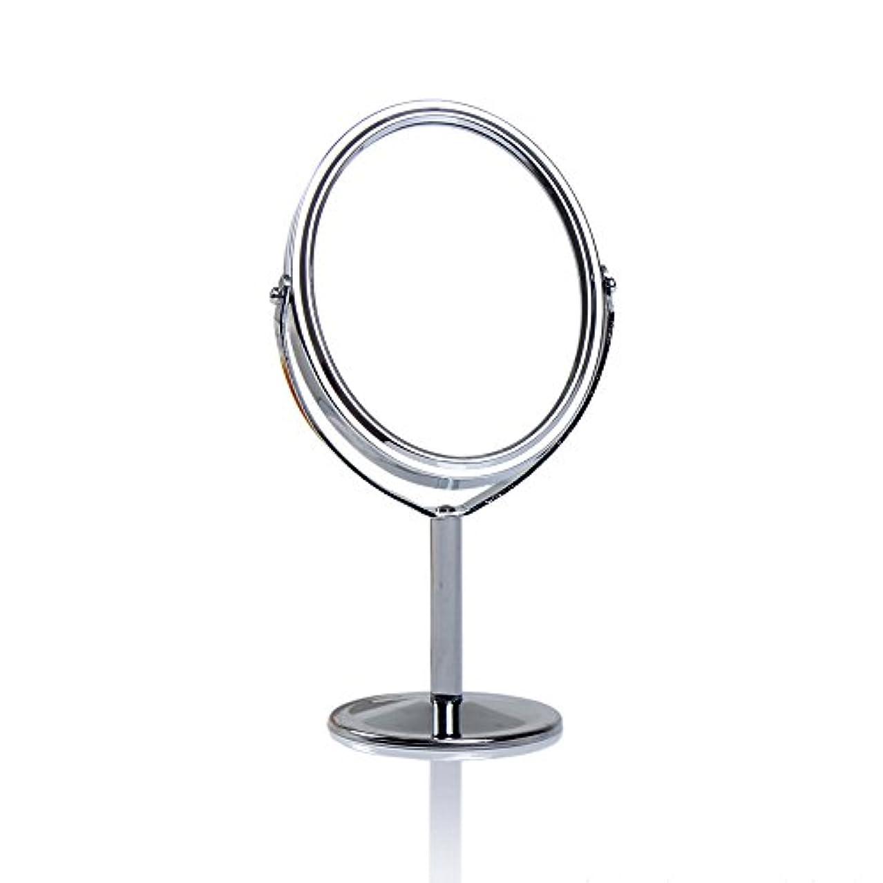 Dream 化粧鏡 両面 化粧ミラー 美容鏡 卓上鏡 浴室鏡 女優ミラー 防水 (B)