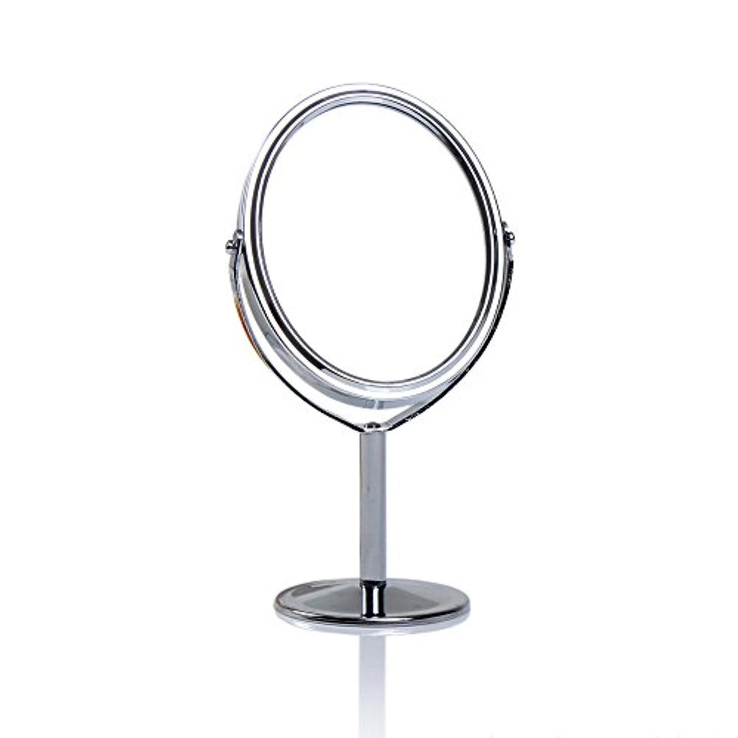 買う軽グラスDream 化粧鏡 両面 化粧ミラー 美容鏡 卓上鏡 浴室鏡 女優ミラー 防水 (B)