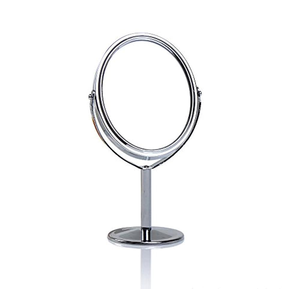 明示的に家禽ウィンクDream 化粧鏡 両面 化粧ミラー 美容鏡 卓上鏡 浴室鏡 女優ミラー 防水 (B)