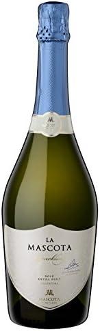 [Amazon限定ブランド]【シャンパン製法のピノノワール100%辛口スパークリング】ラ マスコタ スパークリング ブリュット[アルゼンチン/スパークリング/辛口/Curator's Cho