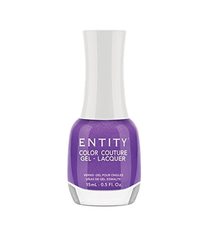 補助金必需品不健全Entity Color Couture Gel-Lacquer - Elegant Edge - 15 ml/0.5 oz