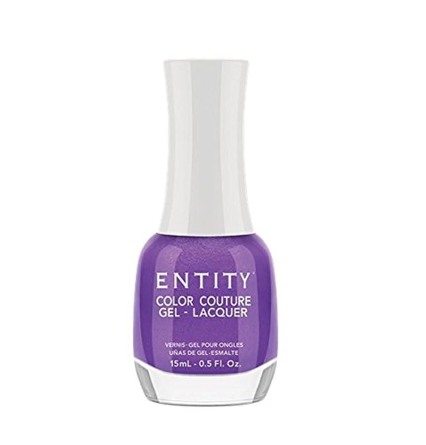 十パラダイスプログレッシブEntity Color Couture Gel-Lacquer - Elegant Edge - 15 ml/0.5 oz