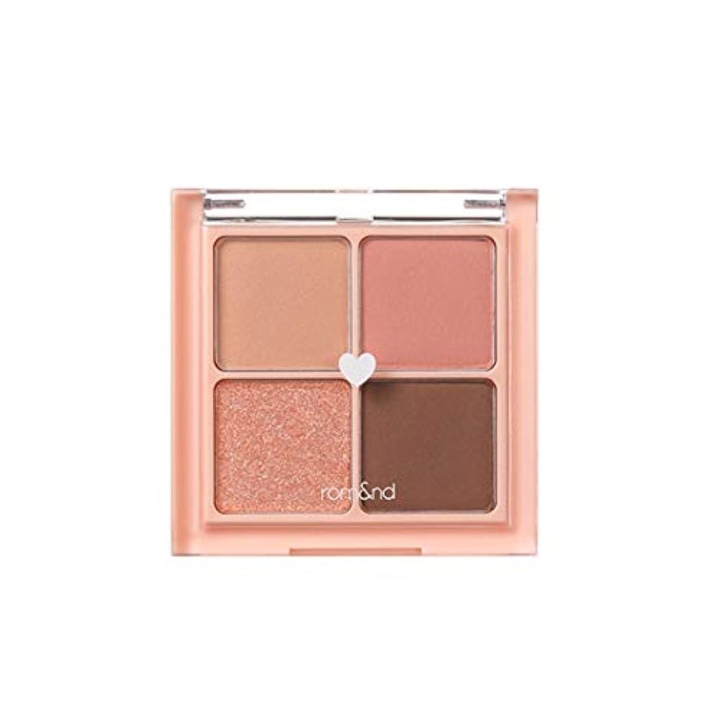 自体にやにや肯定的rom&nd BETTER THAN EYES Eyeshadow Palette 4色のアイシャドウパレット # 1 DRY mango tulip(並行輸入品)