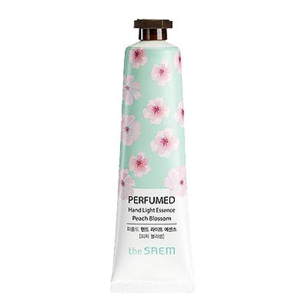 に慣れオーラルドルtheSAEM ザセム パヒューム ハンド ライト エッセンス ハンドクリーム PERFUMED HAND LIGHT ESSENCE 韓国コスメ (E-Peach Blossom(ピーチブロッサム))