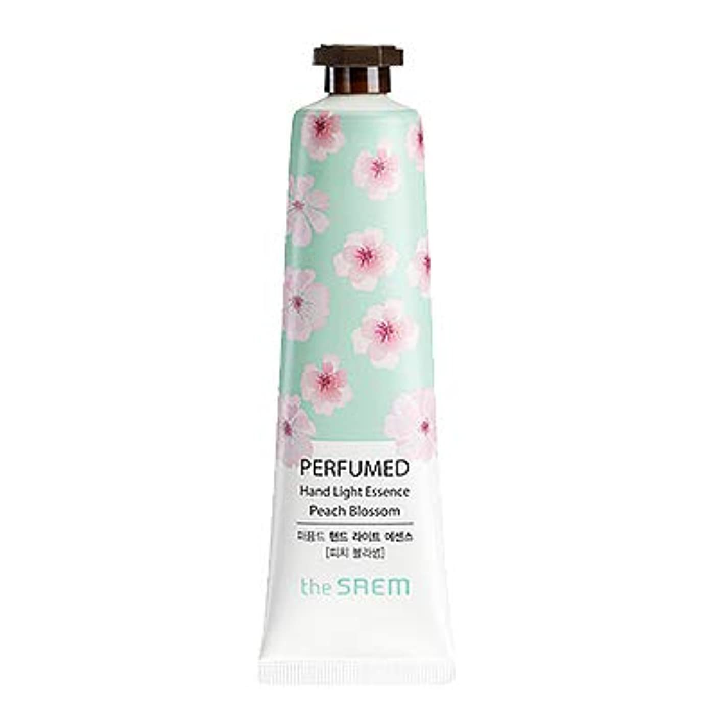 美人キャンドル合理的theSAEM ザセム パヒューム ハンド ライト エッセンス ハンドクリーム PERFUMED HAND LIGHT ESSENCE 韓国コスメ (E-Peach Blossom(ピーチブロッサム))