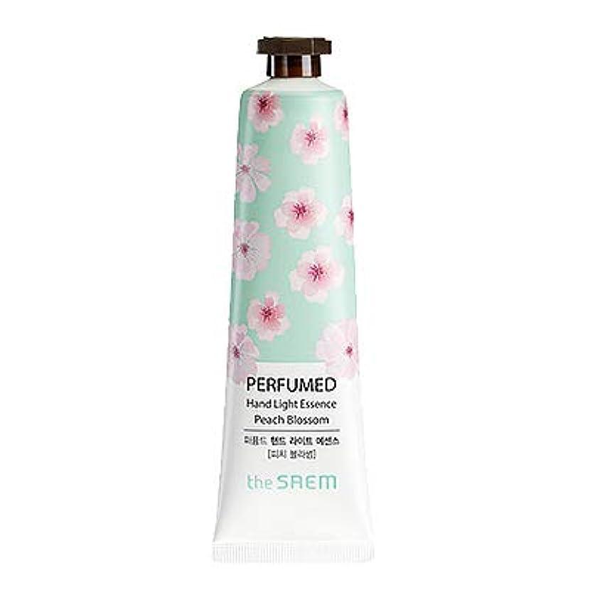 シミュレートする幹終点theSAEM ザセム パヒューム ハンド ライト エッセンス ハンドクリーム PERFUMED HAND LIGHT ESSENCE 韓国コスメ (E-Peach Blossom(ピーチブロッサム))