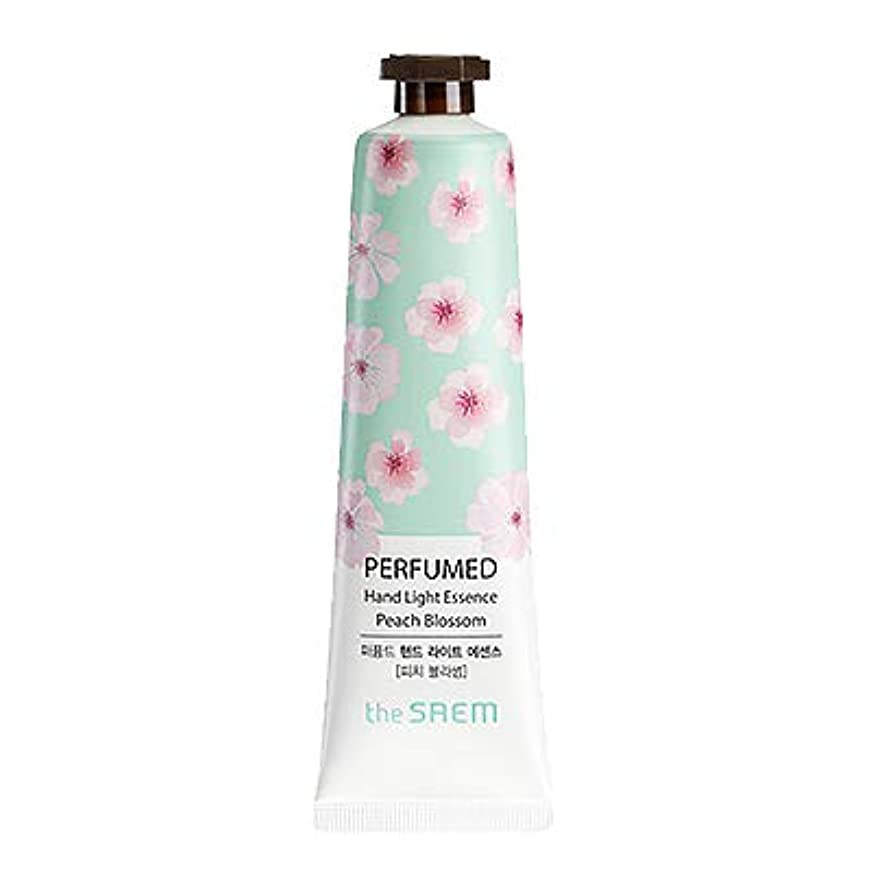 ゴムボックス偏心theSAEM ザセム パヒューム ハンド ライト エッセンス ハンドクリーム PERFUMED HAND LIGHT ESSENCE 韓国コスメ (E-Peach Blossom(ピーチブロッサム))