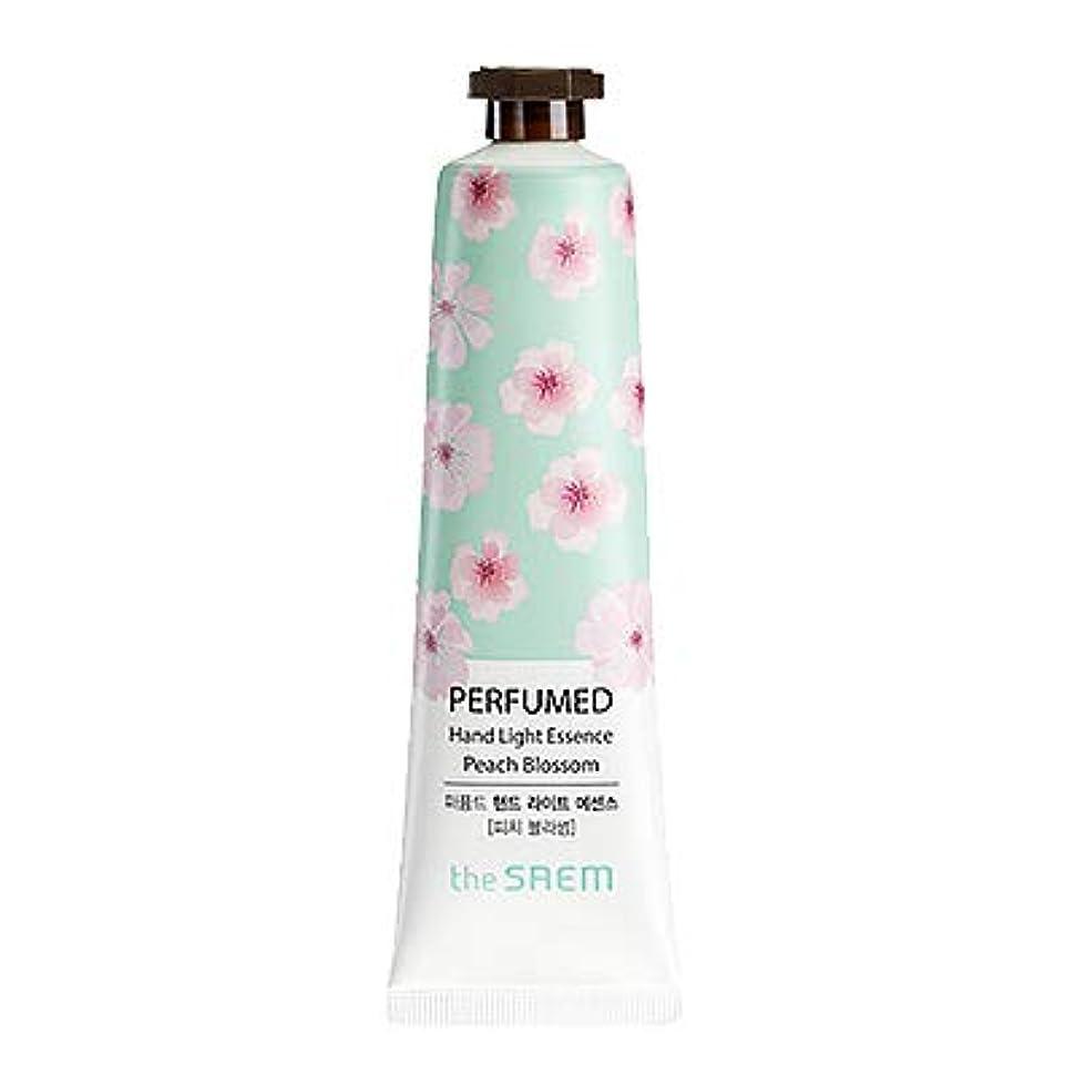 トリップ人物暗殺者theSAEM ザセム パヒューム ハンド ライト エッセンス ハンドクリーム PERFUMED HAND LIGHT ESSENCE 韓国コスメ (E-Peach Blossom(ピーチブロッサム))