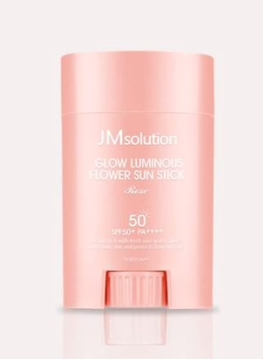 取り除くはぁ遺棄された[JMsolution] Glow Luminous Flower Sun Stick Rose 21g SPF50+ PA++++ [並行輸入品]