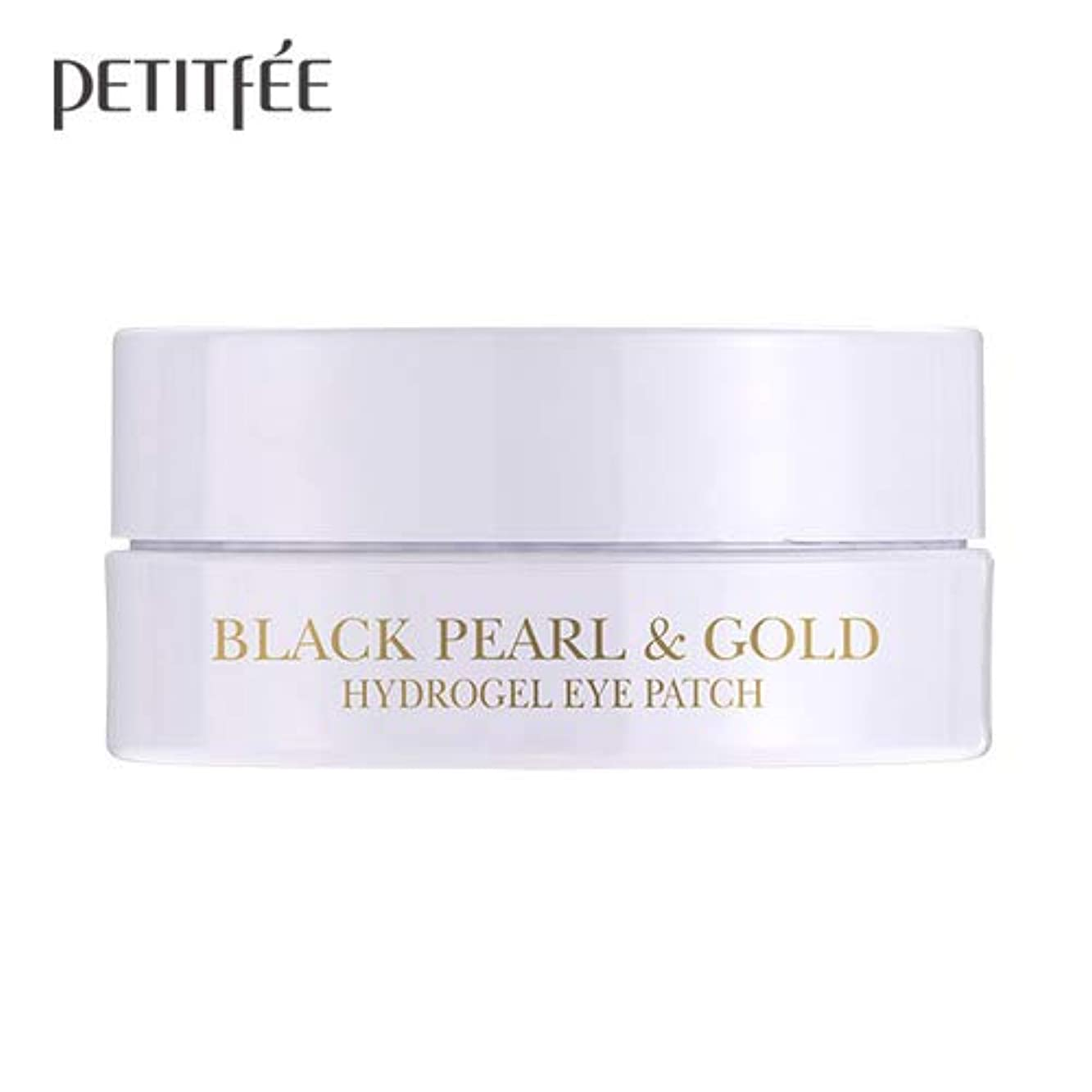 (3 Pack) PETITFEE Black Pearl & Gold Hydrogel Eye Patch 60 Pieces (並行輸入品)