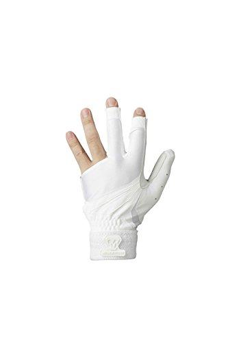 美津和タイガー mitsuwa-tiger 守備用手袋 RevolTigerデルタ 3本指左手 高校対応 AGRLYS-006-010 Men's