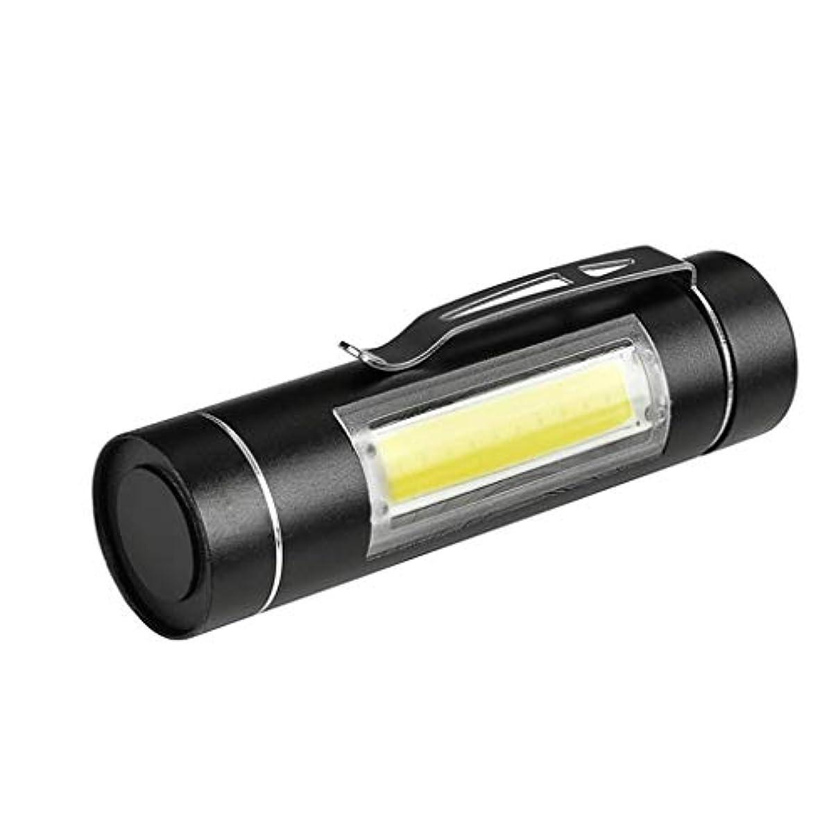メイン発動機半ばXPE Q5 COB LED 懐中電灯 小型 便利 ハンディライト 高輝度 TangQI 14500&単三電池 防水 高性能 多用途 防水 防塵 停電 地震 キャンプ 読書 ハイキング