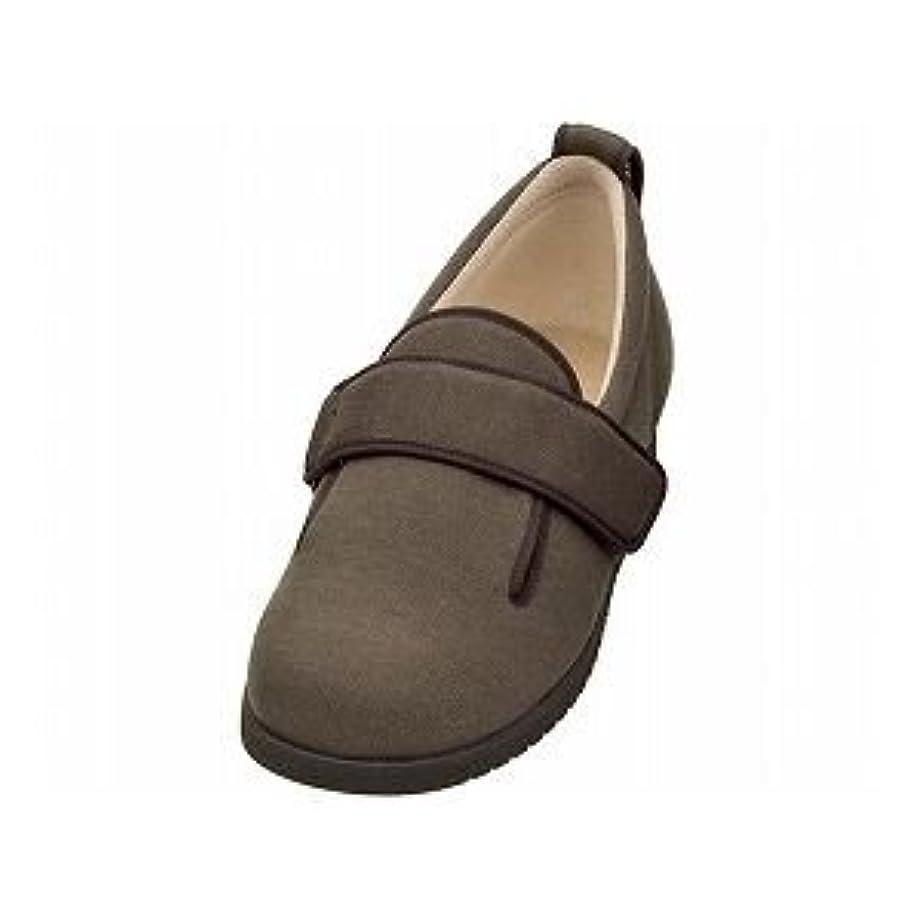 湿った潤滑する悲劇的な介護靴 施設?院内用 ダブルマジック2 11E(ワイドサイズ) 7029 両足 徳武産業 あゆみシリーズ /5L (27.0~27.5cm) ブラウン ds-1433339