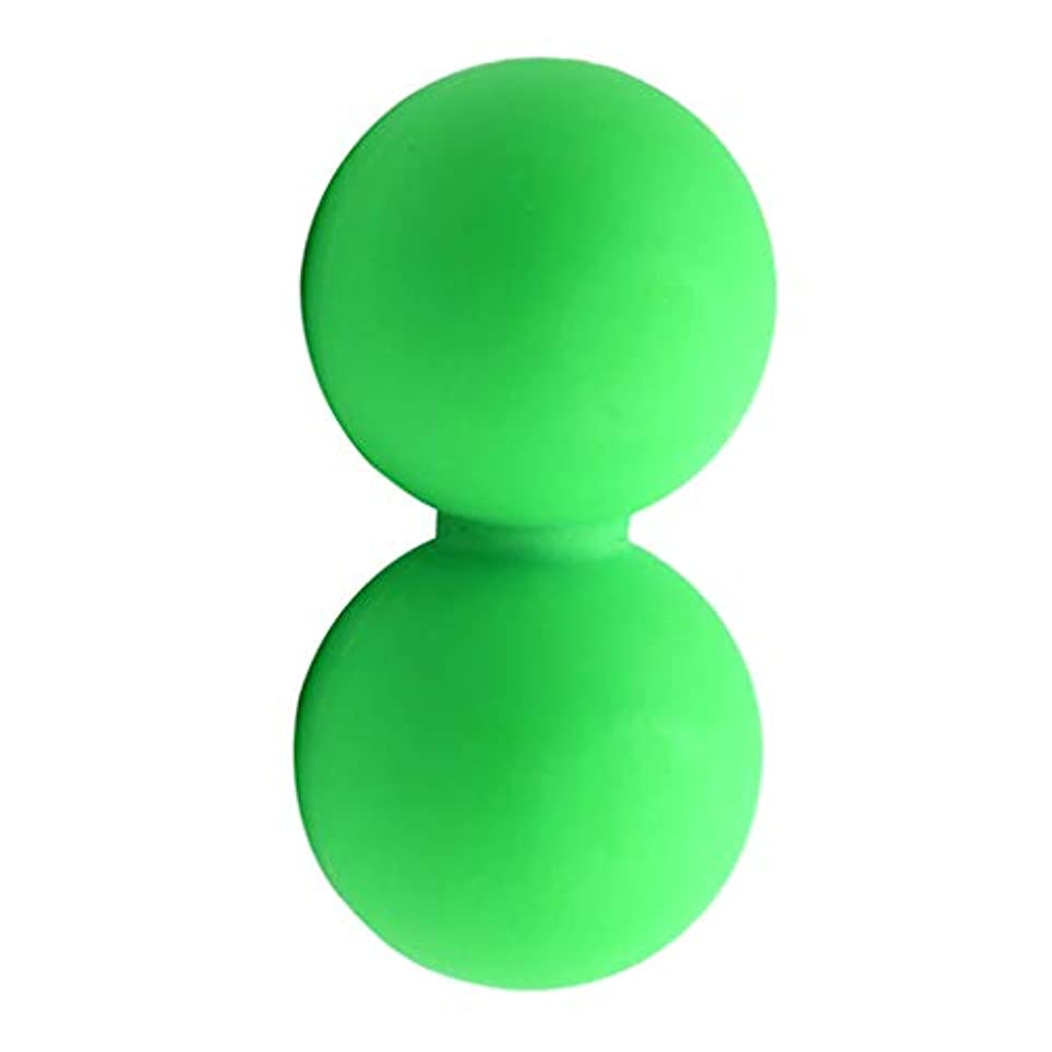 病独創的熟したマッサージボール グリーン スポーツケア 運動 痛み緩和