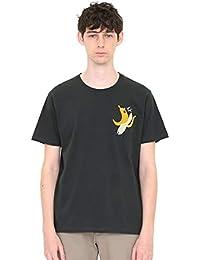 (グラニフ) graniph Tシャツ (刺繍) フルーツモンスター (ブラック) メンズ レディース (g01) (g14)