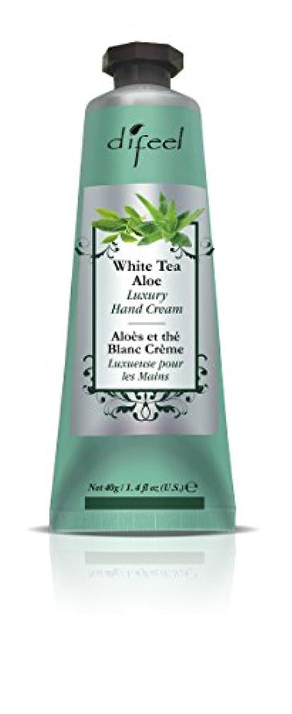 熟達した早熟ニコチンDifeel(ディフィール) ホワイトティー&アロエ ナチュラル ハンドクリーム 40g WHITE TEA&ALOE 07WTAn New York