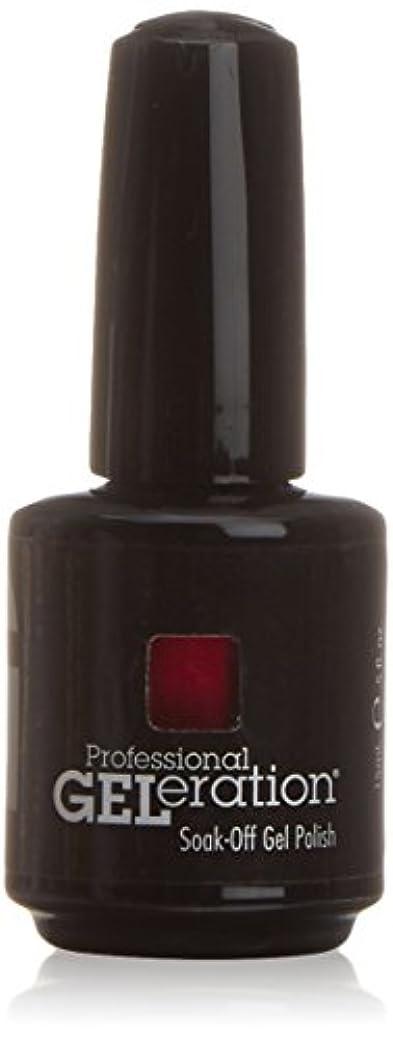 好奇心盛フレームワーク対角線ジェレレーションカラー GELERATION COLOURS 463 F パッショネイトキッシーズ  15ml UV/LED対応 ソークオフジェル