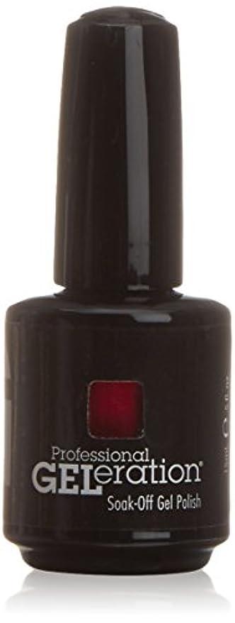 シソーラスやめる一口ジェレレーションカラー GELERATION COLOURS 463 F パッショネイトキッシーズ  15ml UV/LED対応 ソークオフジェル