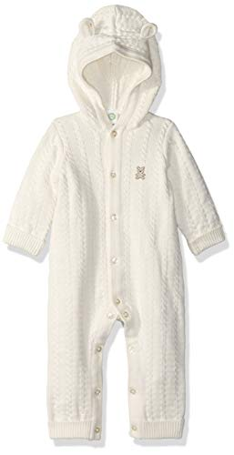 Little Me Unisex-Baby Sweater Coveralls Layette Set - White - 6 Months