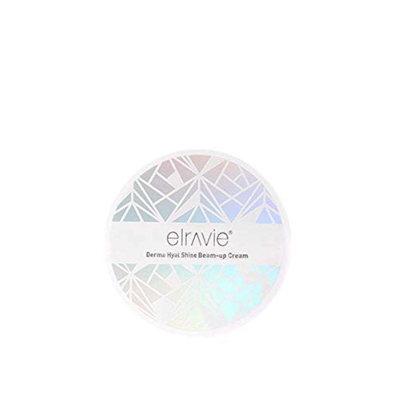 砂の楽観的精査するエラヴィー[Elravie] ダーマヒアルロン酸 輝くビームアップクリーム15g / Derma Hyal Shine Beam-up Cream