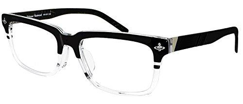 ( ヴィヴィアンウエストウッド ) Vivienne Westwood メンズ メガネ vw9013-BG ウェリントン スクエア 眼鏡 クラシック 男性 (ダミーレンズ付)