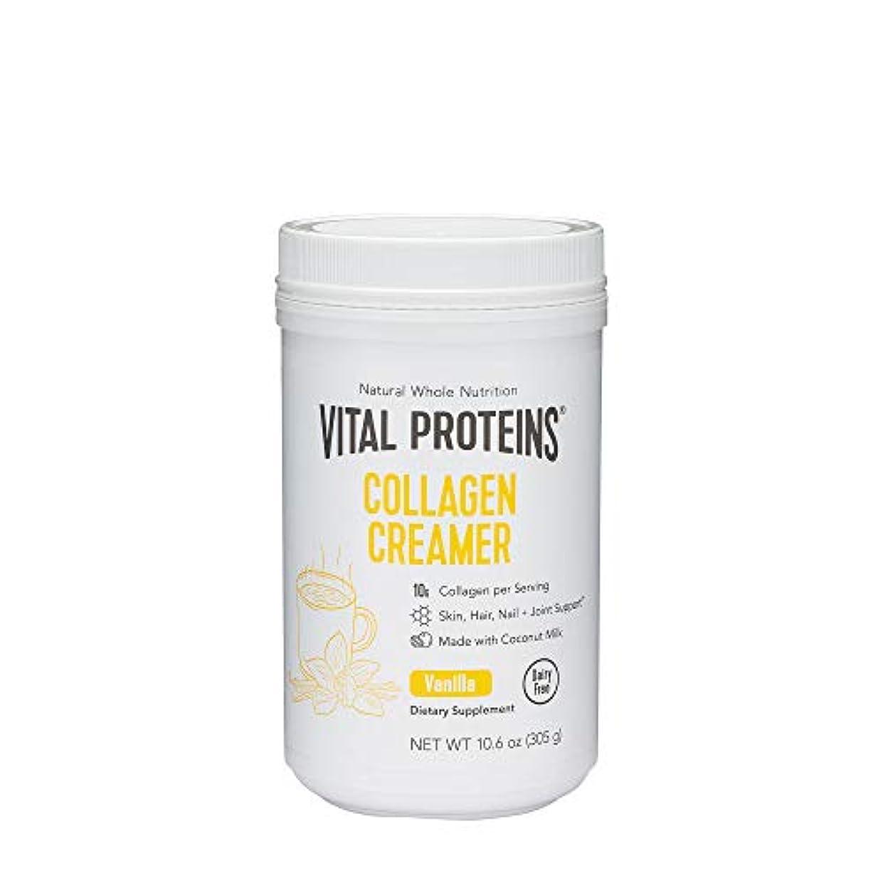 王女識字助言プロテイン Vital Proteins Collagen Creamer 10.3 oz 293 g バニラ