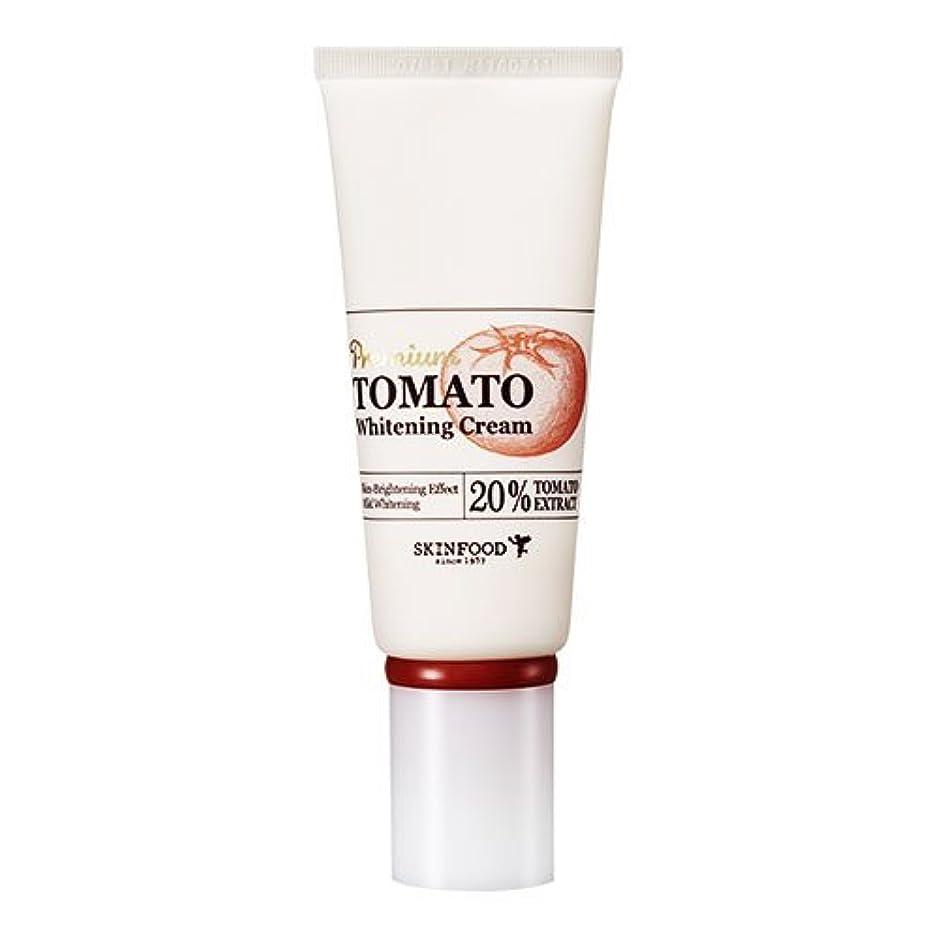 ライバルスプリット調停するSkinfood プレミアムトマトホワイトニングクリーム(美白効果) / Premium Tomato Whitening Cream (Skin-Brightening Effect) 50g [並行輸入品]