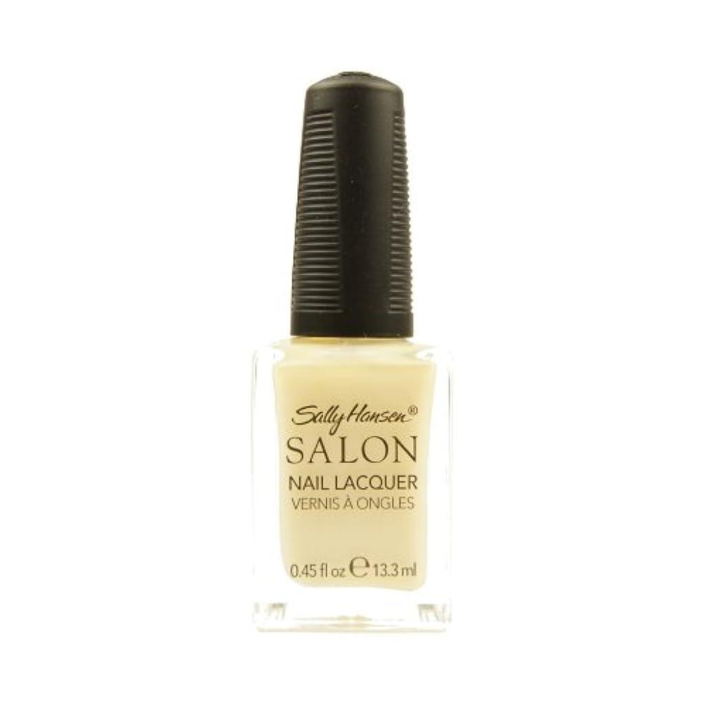 パドル砂利高価なSALLY HANSEN Salon Nail Lacquer 4134 - Sheer Pressure (並行輸入品)