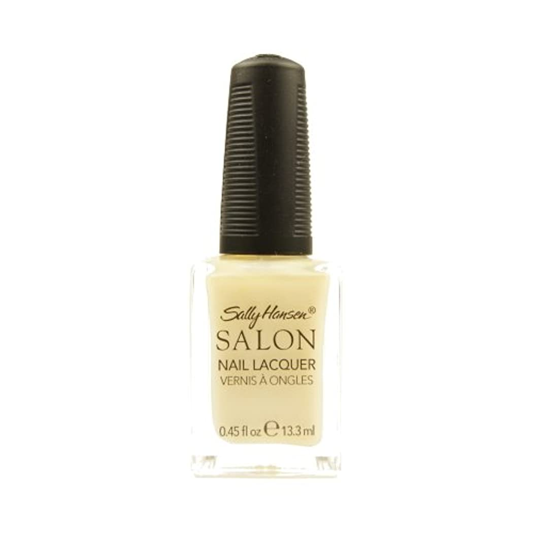 変色する均等に不名誉な(3 Pack) SALLY HANSEN Salon Nail Lacquer 4134 - Sheer Pressure (並行輸入品)