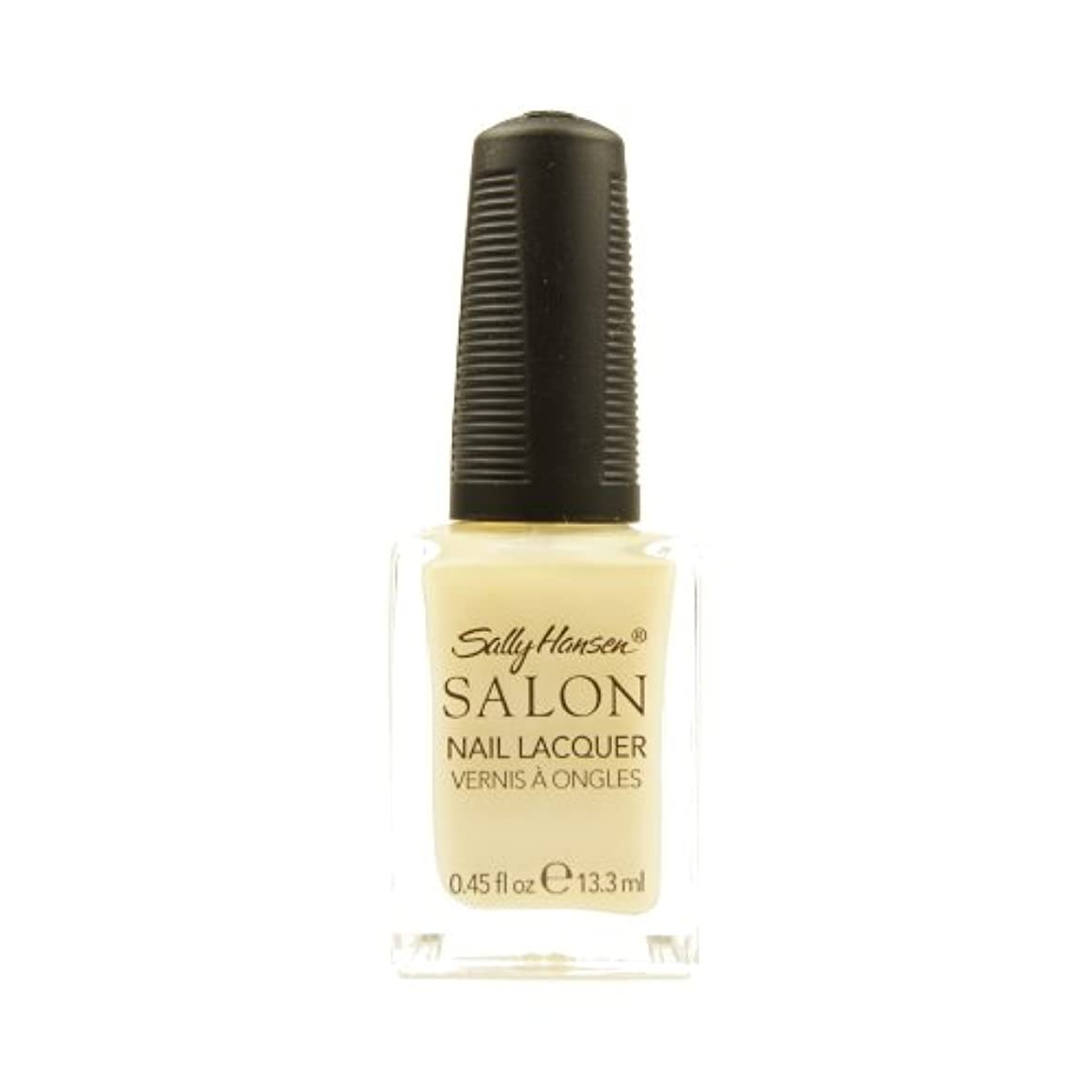 (6 Pack) SALLY HANSEN Salon Nail Lacquer 4134 - Sheer Pressure (並行輸入品)