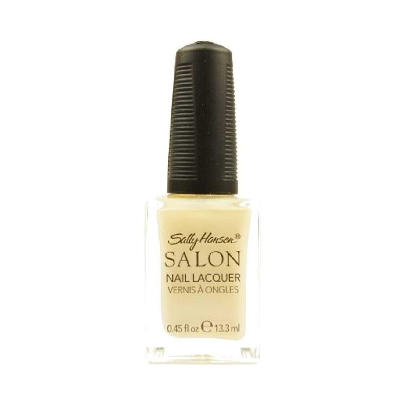 バウンス協定概して(6 Pack) SALLY HANSEN Salon Nail Lacquer 4134 - Sheer Pressure (並行輸入品)