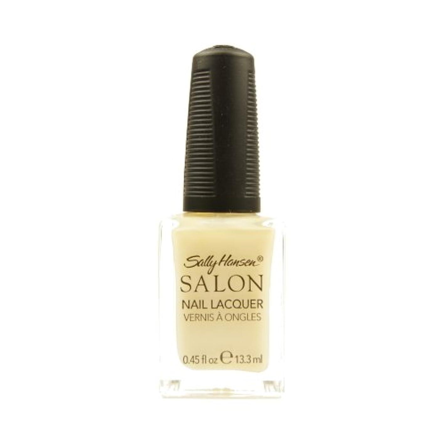 休日イタリアのなだめるSALLY HANSEN Salon Nail Lacquer 4134 - Sheer Pressure (並行輸入品)