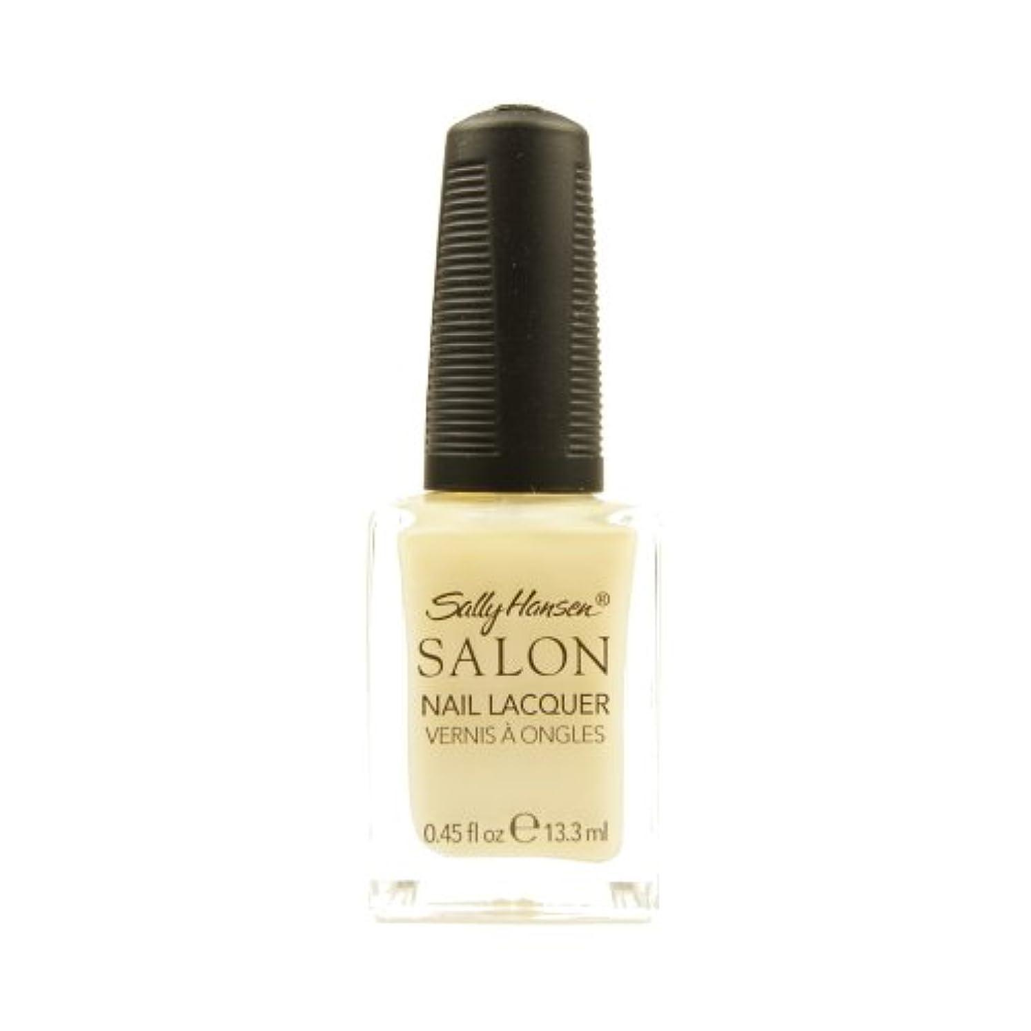 春スラッシュアシュリータファーマン(6 Pack) SALLY HANSEN Salon Nail Lacquer 4134 - Sheer Pressure (並行輸入品)